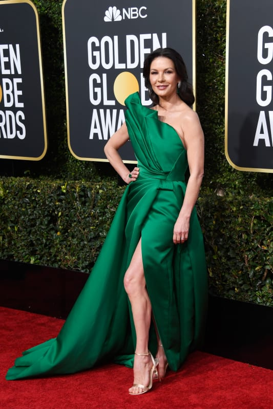 Catherine zeta jones at the 2019 globes