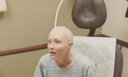 Shannen Doherty Finishes Chemotherapy, Shaves Head
