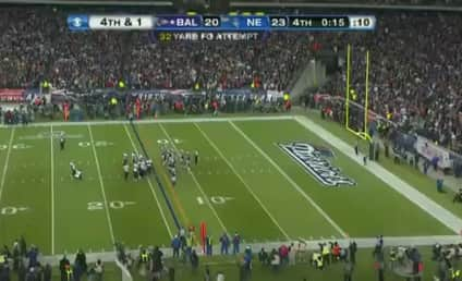 Billy Cundiff: Distracted Before Missed Field Goal?