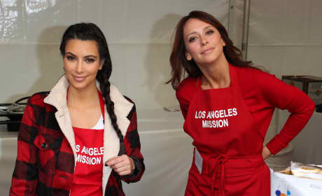 Kim Kardashian and Jennifer Love Hewitt