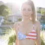 Crystal Harris in a Bikini