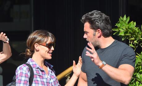 Ben Affleck and Jennifer Garner Arguing