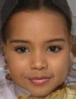 Projected Kim Kardashian Baby Photo
