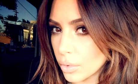 Do you like Kim Kardashian as a brunette?