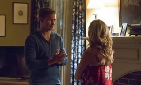 Alaric & Caroline At Odds on The Vampire Diaries Season 8 Episode 1