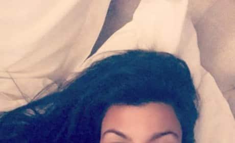Kourtney Kardashian Says Goodnight