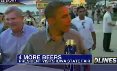 Obama at Iowa State Fair