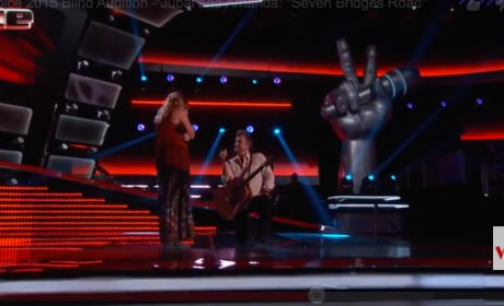 Jubal Lee Young and Amanda Preslar Get Engaged on The Voice