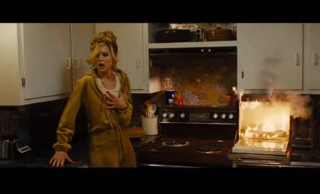 Jennifer Lawrence Wins a Golden Globe