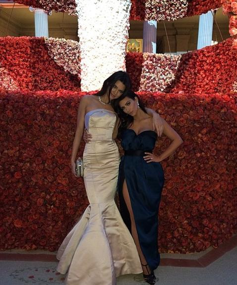 Kendall and Kim at the MET Gala