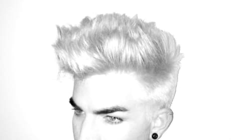 What do you think of Adam Lambert as a blonde?