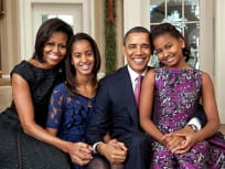 Obama Family Portrait 2011