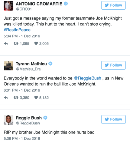 mcknight tweets