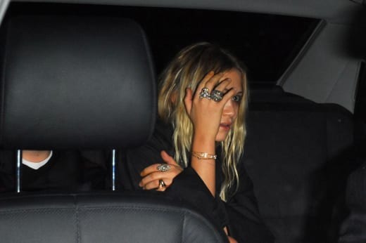 Mary-Kate Olsen In A Car