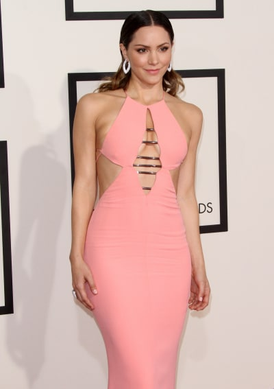 Katherine McPhee at the 2015 Grammys
