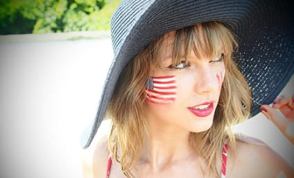 Taylor Swift Dons Bikini, Sends Belated Fourth of July Wishes