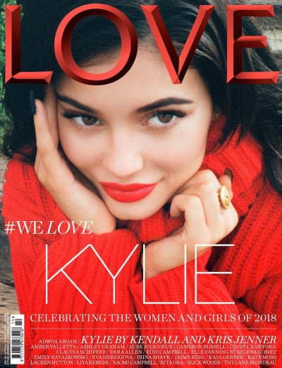 Kylie Jenner for LOVE