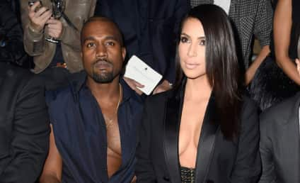 Kim Kardashian and Kanye West: BOOED in Paris!