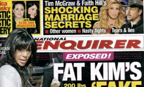 Is Kim Kardashian faking her pregnancy?