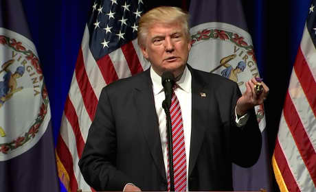 Donald Trump, Purple Heart