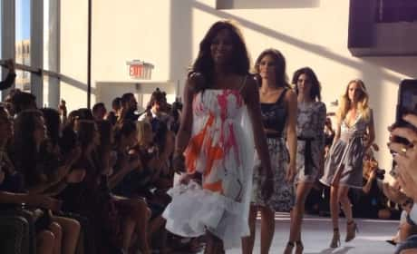 Kendall Jenner: NYC Fashion Week Runway Video