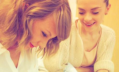 Taylor Swift and a Baby!