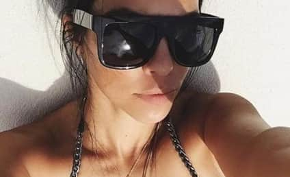 Kourtney Kardashian Flaunts Cleavage, Sticks It to Scott Disick