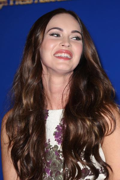 Laughing Megan Fox