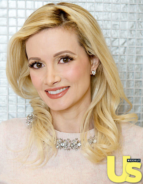 Holly Madison with Blonde Hair