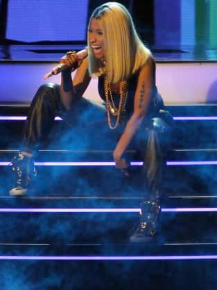 Nicki Minaj Rapping