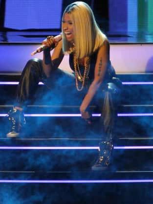 Nicki Minaj Rapping