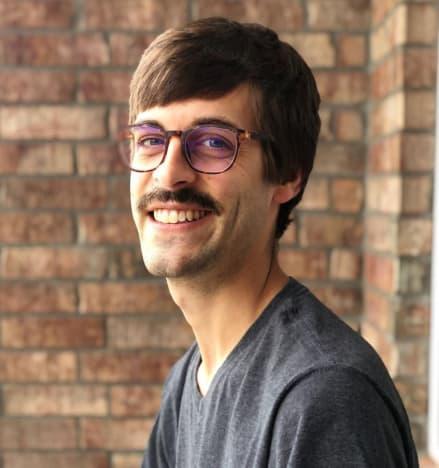 Derick Dillard With a Mustache