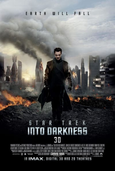 Star Trek Into Darkness Benedict Cumberbatch Poster