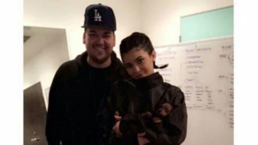 Kylie Jenner, Rob Kardashian Photo