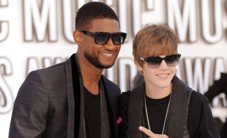 Justin Bieber and Usher - Christmas Song