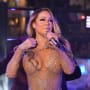 Mariah Carey in Times Square