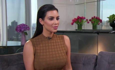 Kim Kardashian on Today