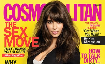 Kim Kardashian to Cosmo: No Rush to Marry!