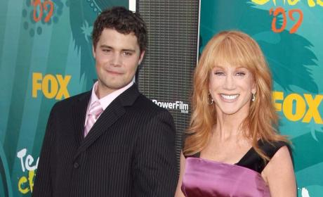 Kathy Griffin and Levi Johnston