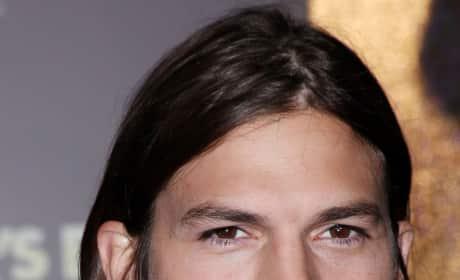 Ashton Kutcher Movie Premiere Pic