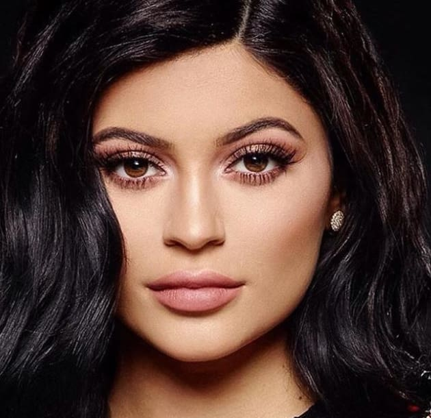 Kylie Jenner Super Close Up The Hollywood Gossip