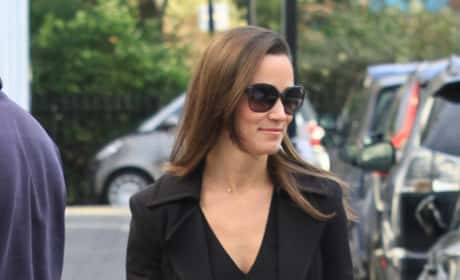 Pippa Middleton, Plaid Skirt