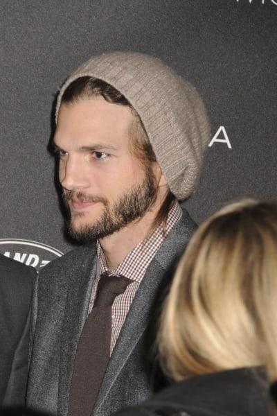 Ashton Kutcher on His Own