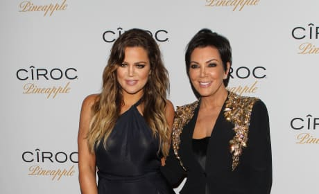 Khloe Kardashian and Kris Jenner: French Montana's Birthday
