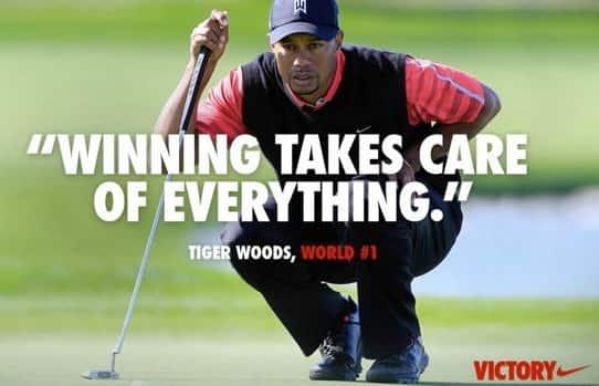 Tiger Woods Winning