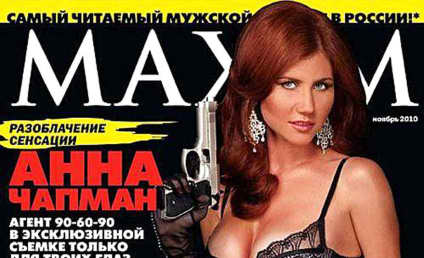 Sexy Spy: Anna Chapman Poses For Maxim