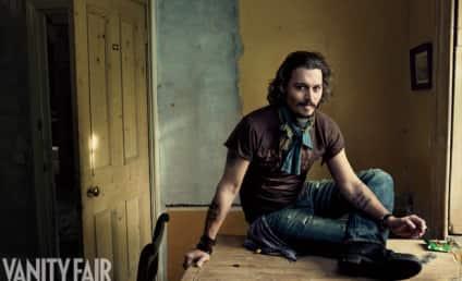 Johnny Depp in Vanity Fair: Angelina Jolie Rules!