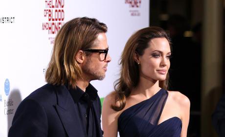 Brad Pitt With Angelina