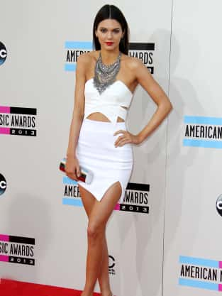 Kendall Jenner at American Music Awards