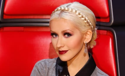 "Rep Defends Racy Christina Aguilera Pics as ""Personal"""